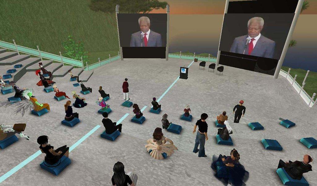 Virtual Conference with Kofi Annan